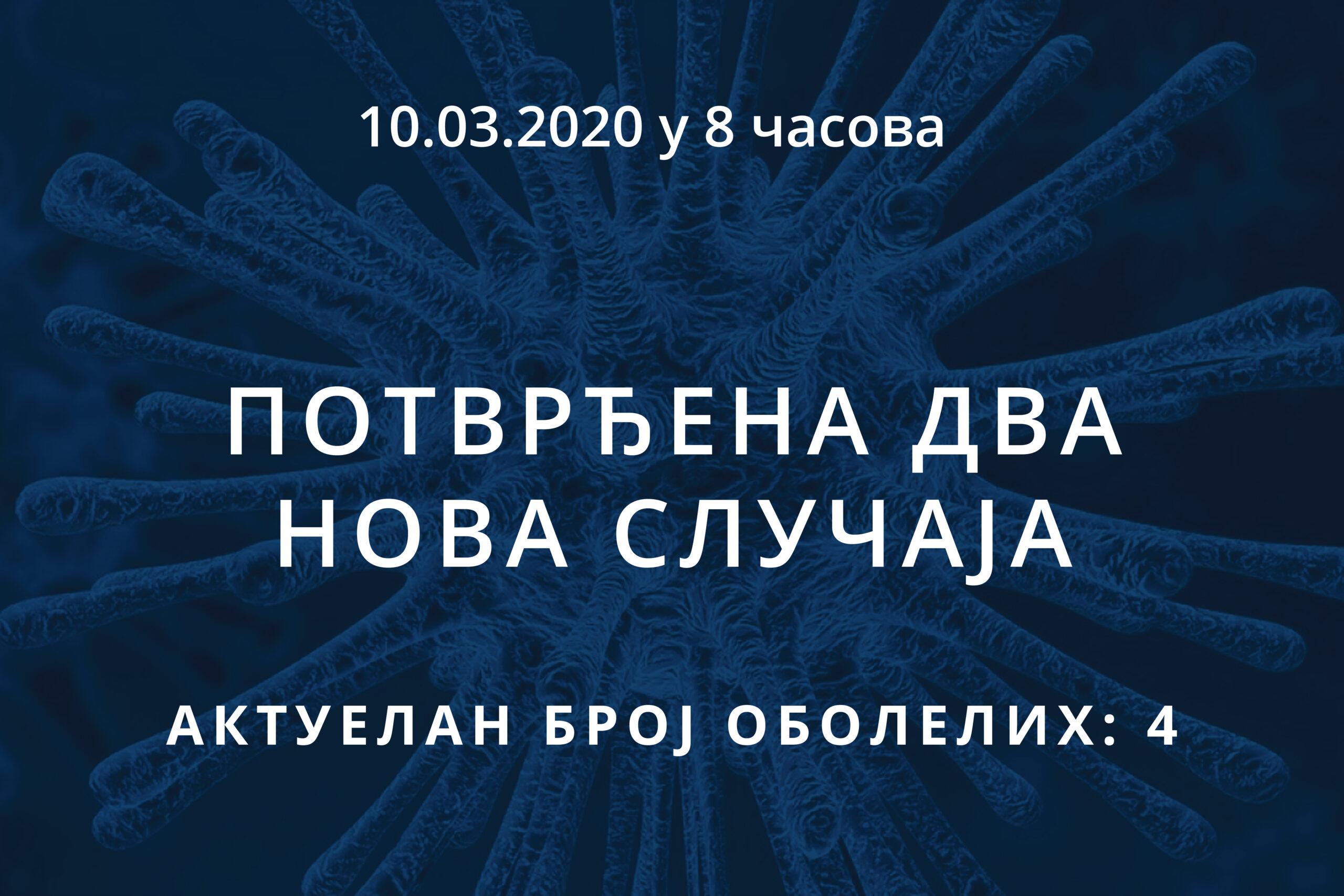 You are currently viewing Информације о корона вирусу COVID-19, 10.03.2020 у 8 часова