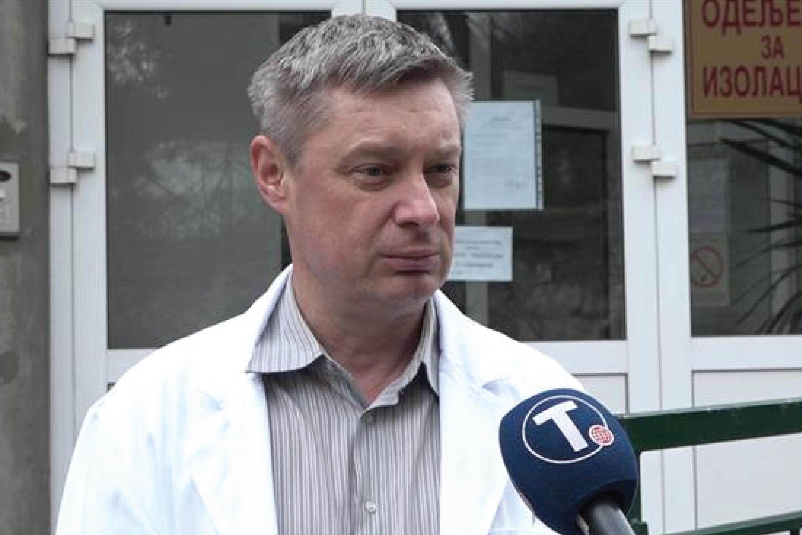 Стевановић:Заражени нису животно угрожени, доброг су стања