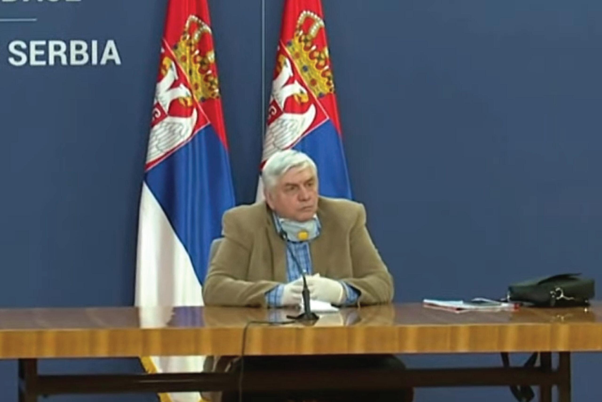 Тиодоровић: Потребна нам је гвоздена дисциплина,биће све теже