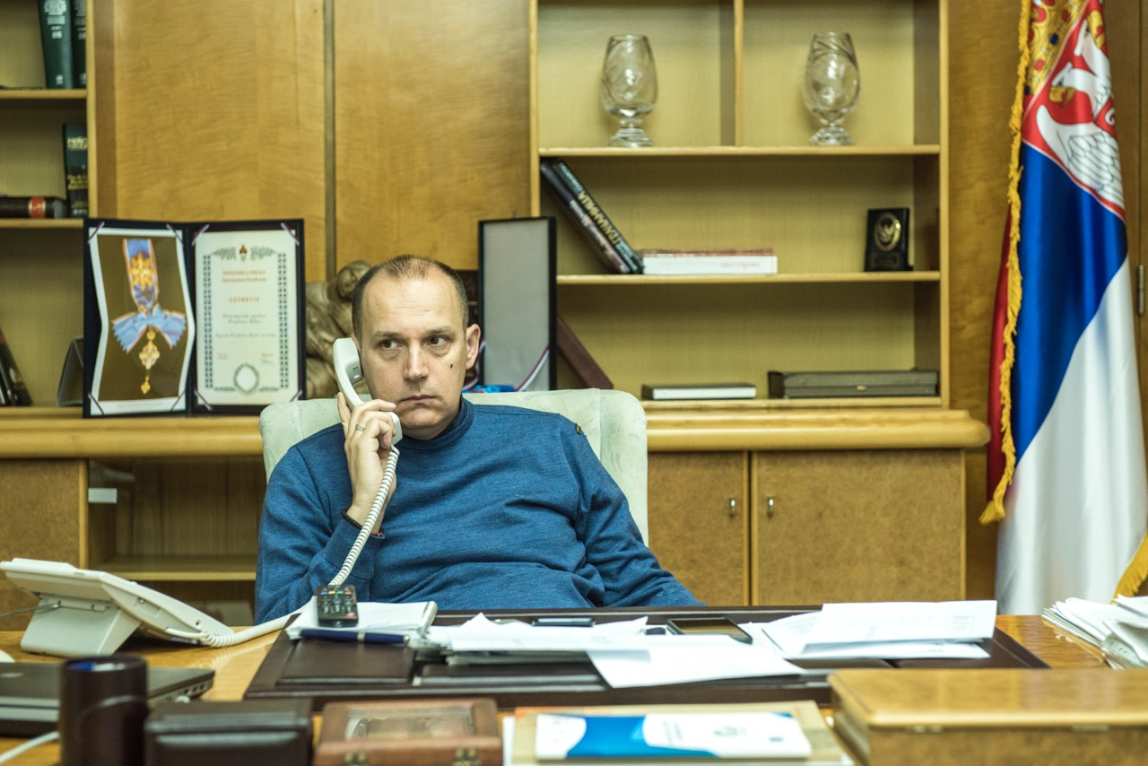Велико интересовање грађана за разговор са министром Лончаром