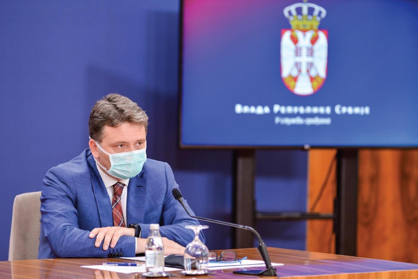 Јовановић: Од данас на еУправа обавештење о PCR тесту