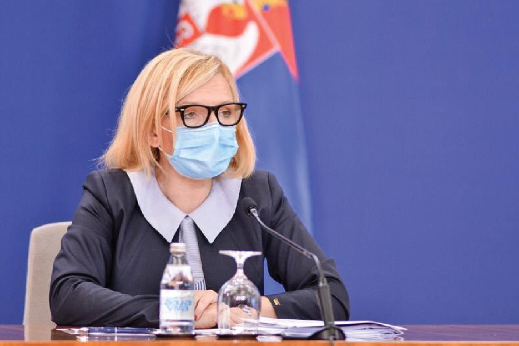 Јовановић: Маске за децу ако одлучи лекар