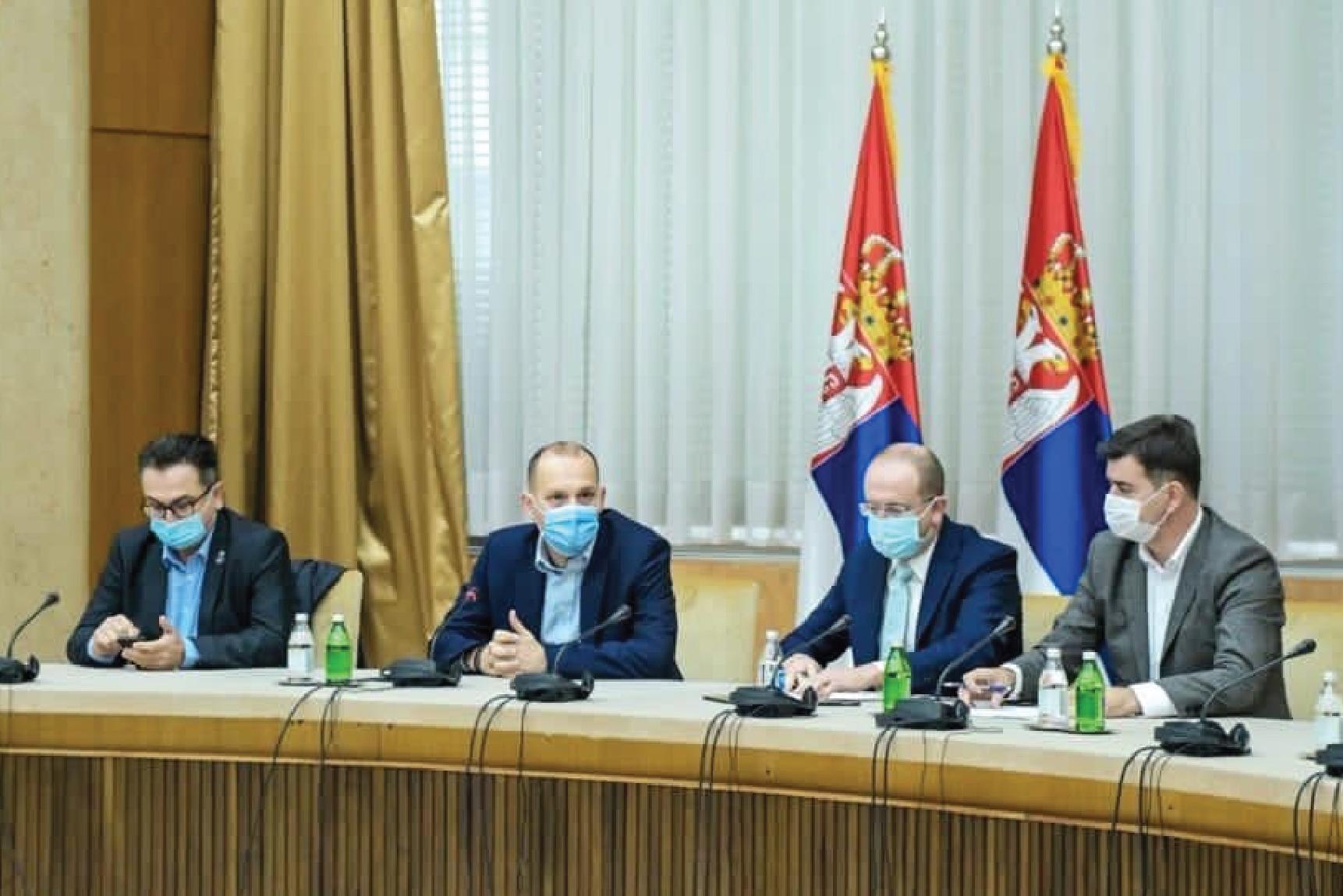 Лончар: Обезбеђено још 500 ковид места у Београду