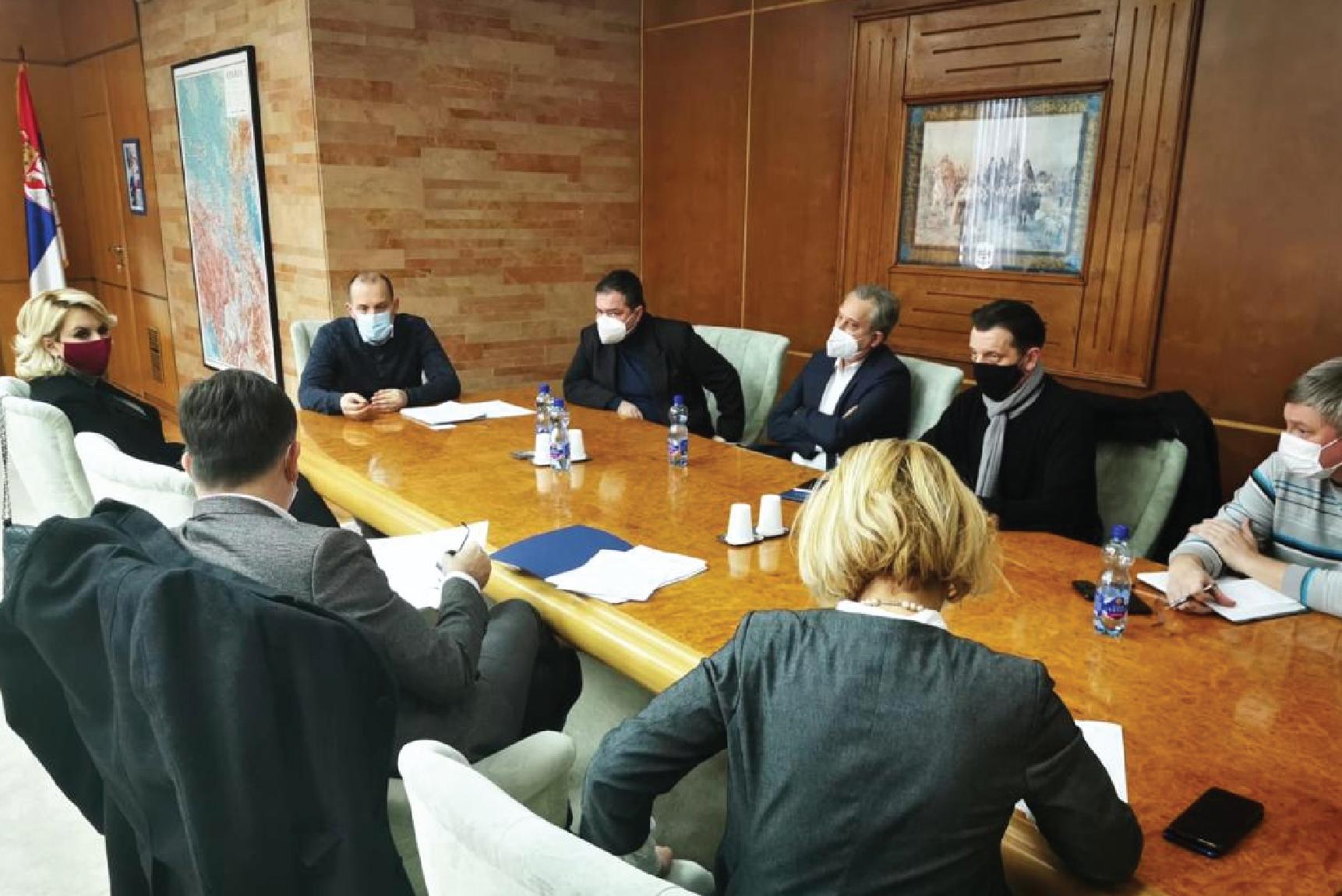 Састанак министра са Националним координационим тимом за имунизацију