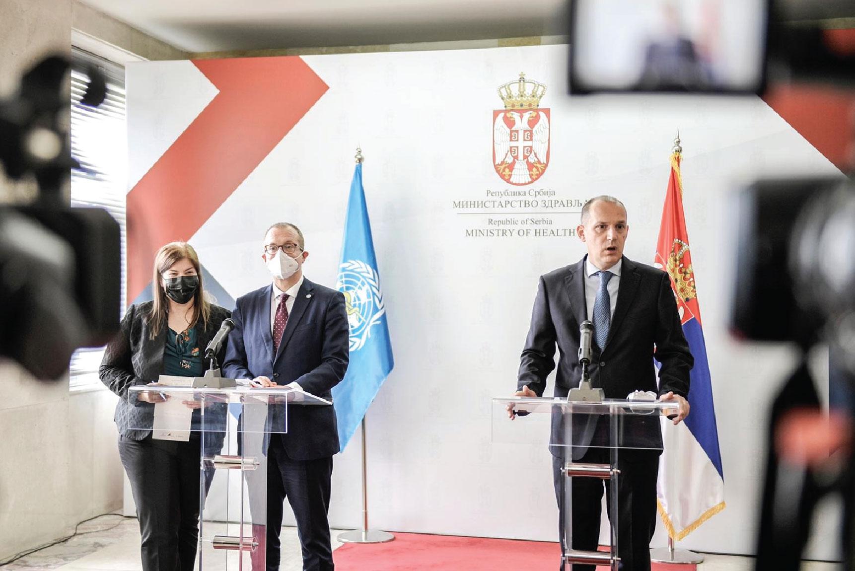 Директор СЗО: Србија лидер у борби против covid-19